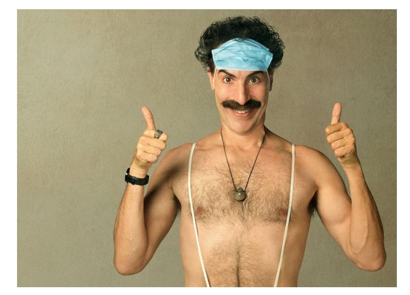 Borat appears across UK landmarks in Amazon Prime Video stunt