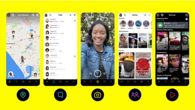 Snapchat navigation tool