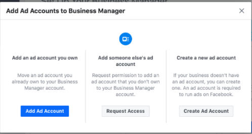 Add your Facebook ad accounts - Socially Powerful
