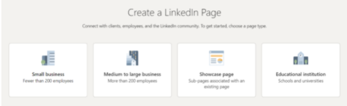 How to create LinkedIn Business Page Step 2