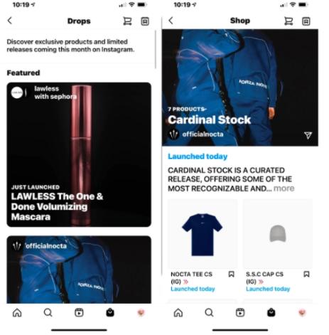 In App Shopping Instagram - Socially Powerful