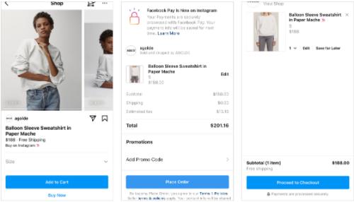 In App Shopping Instagram 2 - Socially Powerful
