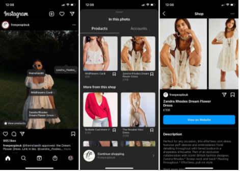 Instagram Shopping Tab - Socially Powerful