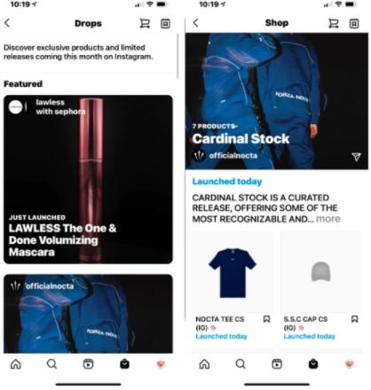 Instagram Drop Shop - Socially Powerful