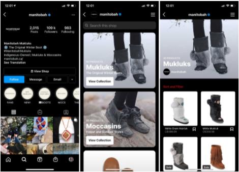 Instagram Digital Shopping - Socially Powerful