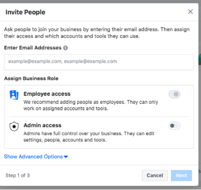 Add employees to help you manage Facebook assets - Socially Powerful