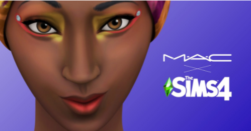 MAC x Sims4 Collab - Socially Powerful