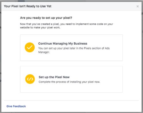 Set up Facebook Pixels - Socially Powerful