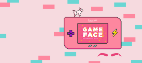Benefit Cosmetics x Game Face Collab