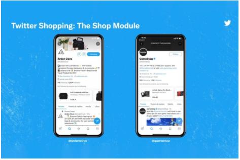 Twitter Shopping - The Shop Module