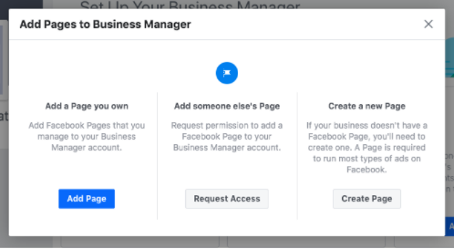 Add your Facebook business Pages - Socially Powerful