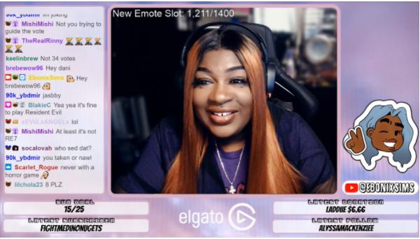 "Dani ""Ebonixsims"" - Female gamers"