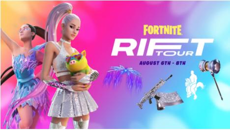 Fortnite's Rift Tour