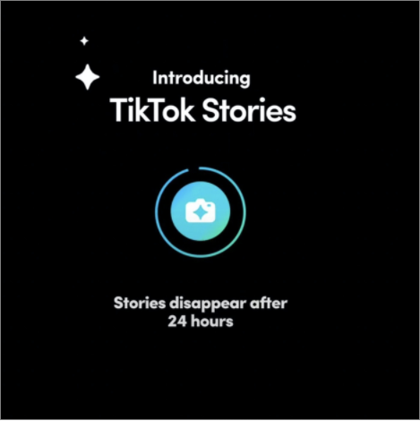 A new Feature Tiktok Stories - Socially Powerful
