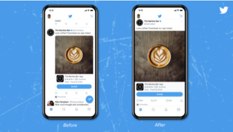 Twitter is testing big ol' full-width photos and videos